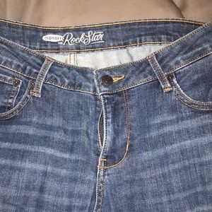 Dark old navy rock star jeans